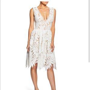 Dress the population Rita Plunge Dress - worn 1x